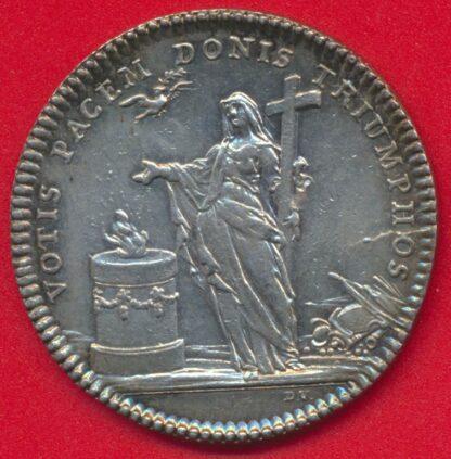 jeton-argent-votis-pacem-donis-triumphos-1735