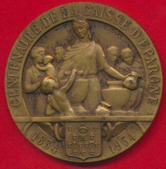 medaille-centenaire-caisse-epargne-montargis-1834-1934-vs