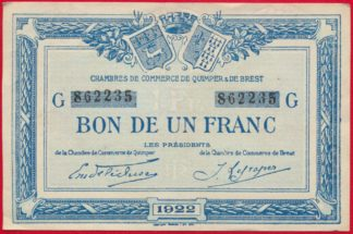 un-franc-chambre-commerce-quimper-brest-1922-2235