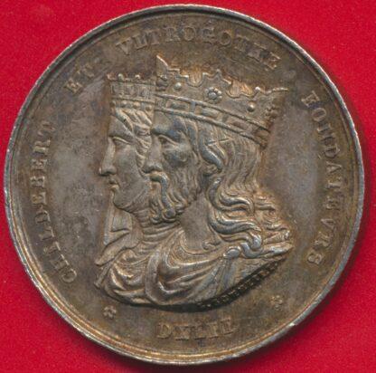 medaille-jeton-argent-conseil-general-administration-hopitaux-civils-lyon-1845-vs
