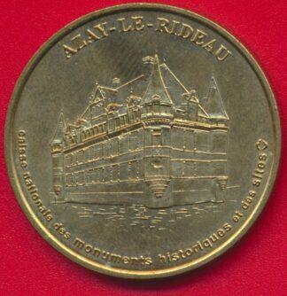 monnaie-paris-azay-rideau-chateau-1998