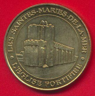 medaille-paris-monnaie-sainte-marie-mer-eglise-fortifiee-1999
