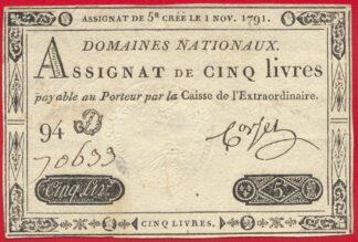 assignat-cinq-livres-domaines-nationaux-1-novembre-1791