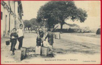 cpa-saigon-indochine-boulevard-charner