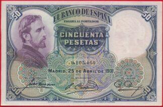 espagne-50-pesetas-25-4-1931-abril-5469-banco-espana