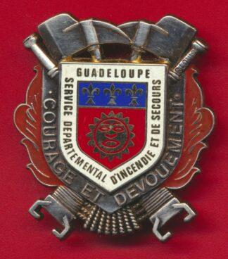 insigne-sapeurs-pompiers-guadeloupe-service-departemental-incendie-secours