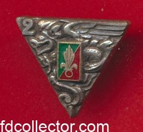 reduction-pins-insigne-2-rep-legion-etrangere-parachutiste