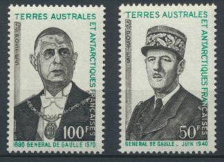 taaf-general-de-gaulle-juin-1940-100-50-francs