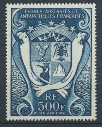 taaf-poste-aerienne-500-francs-armoiries