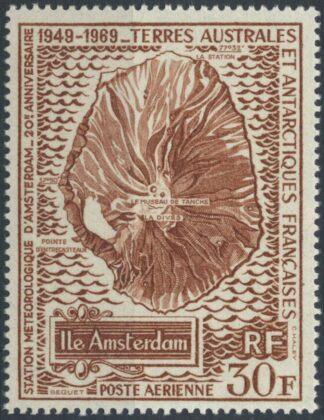 taaf-station-meteorologique-amsterdam-poste-aerienne-30-francs