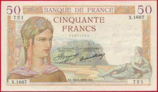 50-francs-ceres-16-5-1935-1667