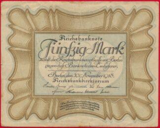 allemagne-50-funfzig-mark-1918