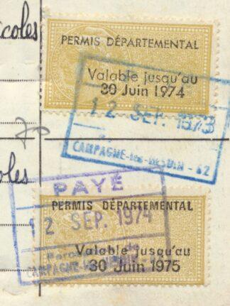permis-chasse-fiscaux-departemental1974-1975-details