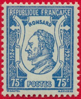 timbre-effigie-ronsart-75-centimes