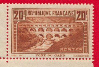 timbre-pont-gard-20-francs-coin-date-1936-vs1
