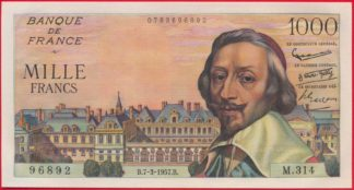 1000-francs-richelieu7-3-1957-6892
