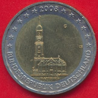 allemagne-2-euro-hambourg-2008