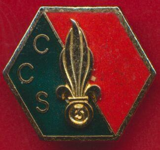 insigne-legion-etrangere-ccs-3-regiment-etranger