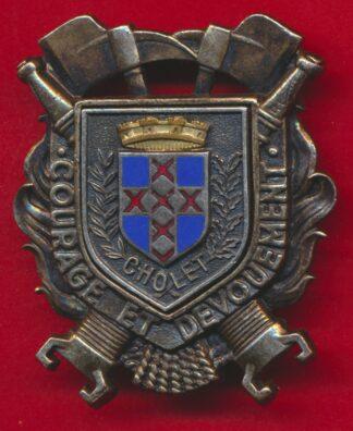 insigne-sapeurs-pompiers-cholet-maine-loire
