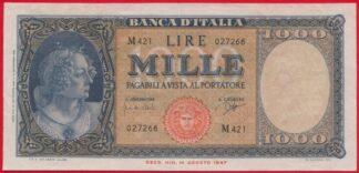 italie-mille-1000-lire-1961-7266-vs