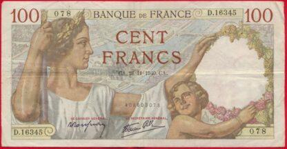 100-francs-sully-28-11-1940-6345