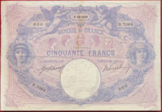 50-francs-bleu-rose-2-10-1916-b7064