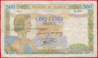500-francs-la-paix-11-6-1941-3083