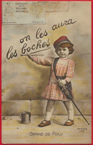 cpa-1914-1918-graine-poilu-boches-aura