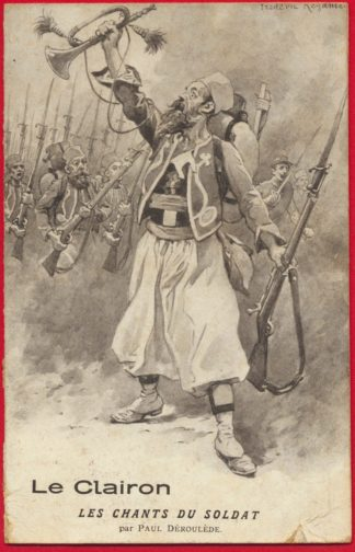 cpa-clairon-chants-soldat