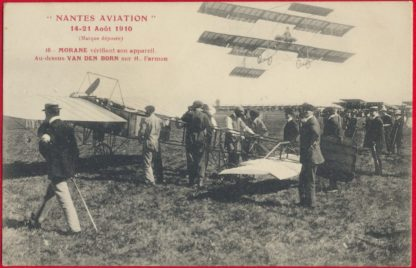 cpa-nantes-aviation-14-21-aout-1910-morane-vandenborn-farman