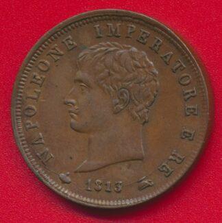 royaume-italie-napoleon-napoleone-imperatore-re-1813-soldo-avers