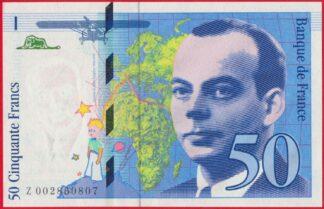 50-francs-saint-exupery-1992-0807