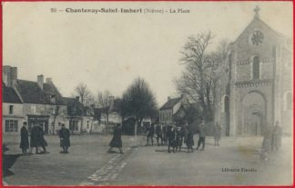 cpa-chantenay-saint-imbert-place-imbert