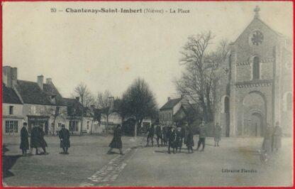 cpa-chantenay-saint-imbert-place-imbert