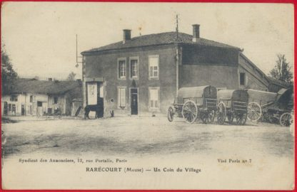 cpa-rarecourt-meuse-coin-village