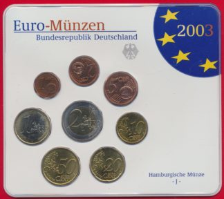 euro-set-allemagne-germany-deutchland-2003-francfort
