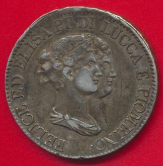 italie-lucca-piombino-5-franchi-1807-elisa-felix