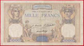 1000-mille-francs-ceres-mercure-16-septembre-1927-830