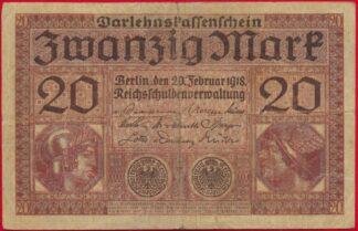 allemagne-20-mark-zwanzig-1918-0256
