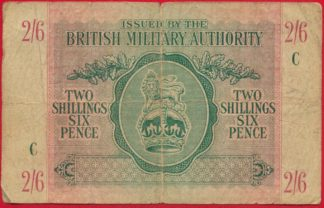grande-bretagne-autorite-militaire-military-authority-two-shilling-six-pence