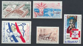 lot-timbres-saint-pierre-miquelon-1987