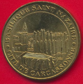 medaille-monnaie-paris-basilique-saint-nazaire-carcassonne-2001
