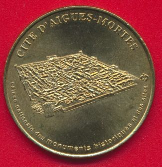 medaille-monnaie-paris-cite-aigues-mortes-1999