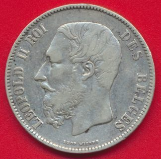 5-francs-belgique-1870-leopold-2-vs