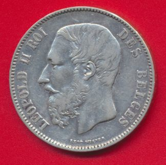 5-francs-belgique-1871-leopold-2-vs