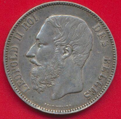 5-francs-belgique-1875-leopold-2-vs
