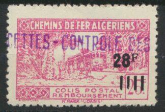 algerie-colis-postal-chemins-fer-28-francs-surcharge