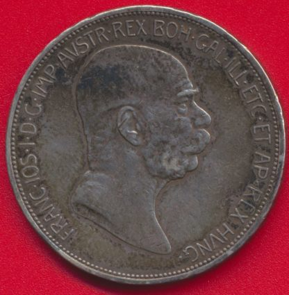 autriche-5-korona-1908-vs