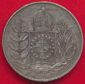 bresil-1000-reis-1850-vs