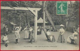 cpa-puy-dome-chatelguyon-kermesse